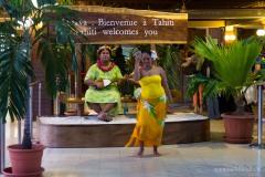 Begrüßung in Tahiti