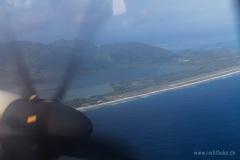 Huahine aus der Luft