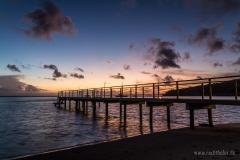 Sonnenuntergang auf Huahine